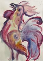 Akvarell 28 x 39