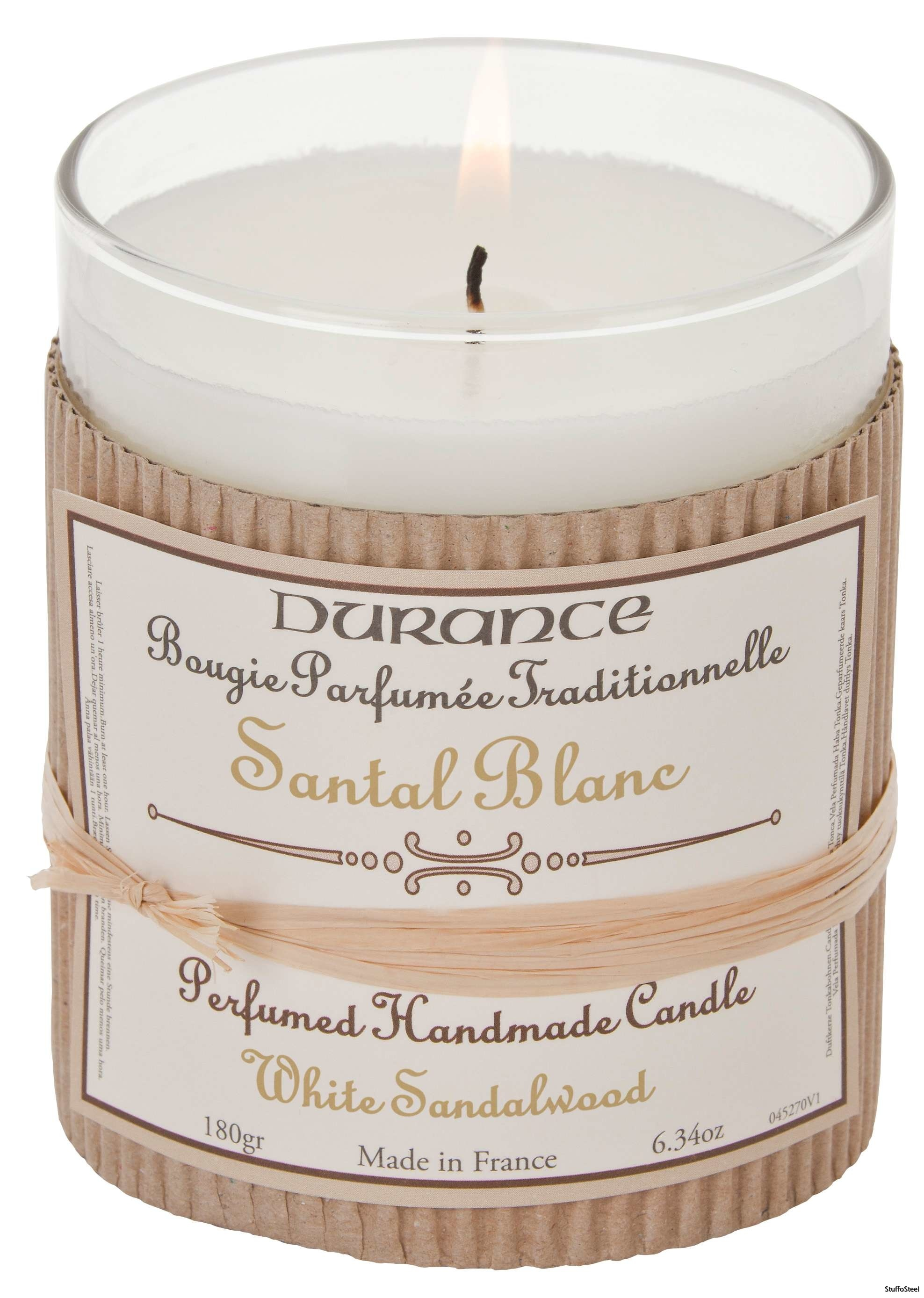 Handcraft Candle White Sandalwood 180g