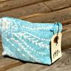 Plånbok/miniväska - Plånbok Turkos slinga