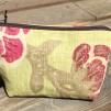 Plånbok/miniväska - Plånbok Grön/rosa