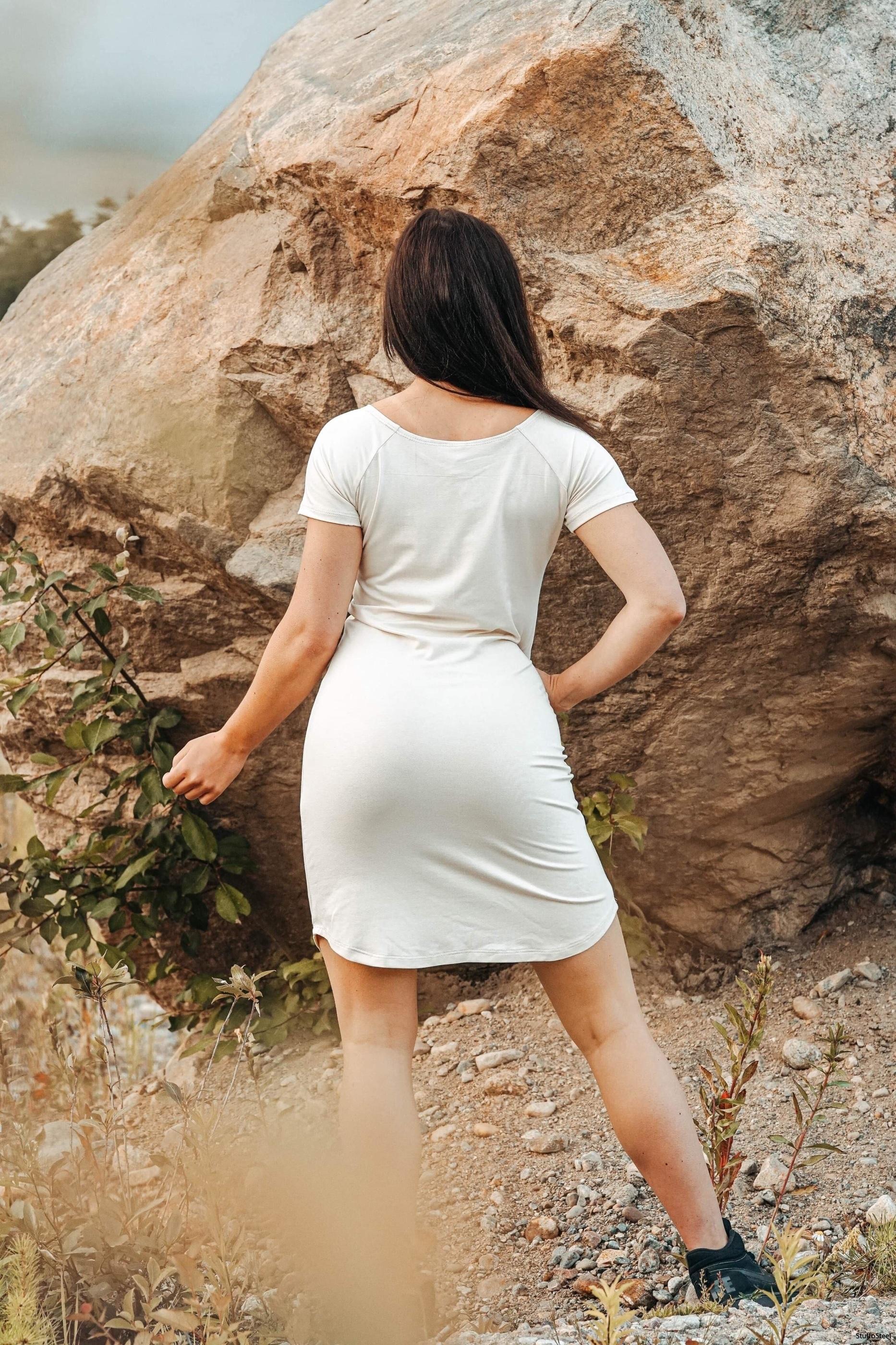 Favoritklänning offwhite