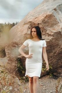 Favoritklänning - Offwhite Small