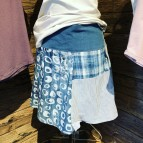 Kjolar av återvunna skjortor