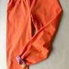 Ekologiska barnkläder - Byxa orange/djungeldjur