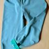 Ekologiska barnkläder - Byxa turkos/djungeldjur