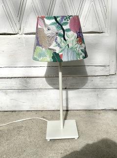 Lampskärm och fot - Lampskärm med kaniner