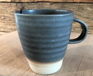 Grå keramikmuggar - Grå mugg 10x9 cm
