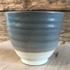 Grå keramikmuggar - Grå mugg 9x10 cm