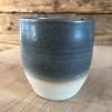 Grå keramikmuggar - Grå mugg 9x8 cm