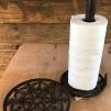 Grytunderlägg i gjutjärn - Hållare papper, gjutjärn