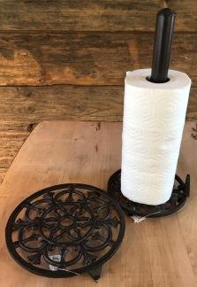 Hållare för hushållspapper - Hållare papper, gjutjärn