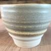 Linas Grågröna Keramik - grågrön mugg 7x9 cm