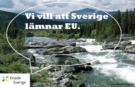 Vi vill skriva våra egna lagar i Sverige