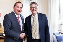Stefan Löfven och Bill Gates möte i Augusti 2014 hela 6år innan Covid-19 Pandemin...