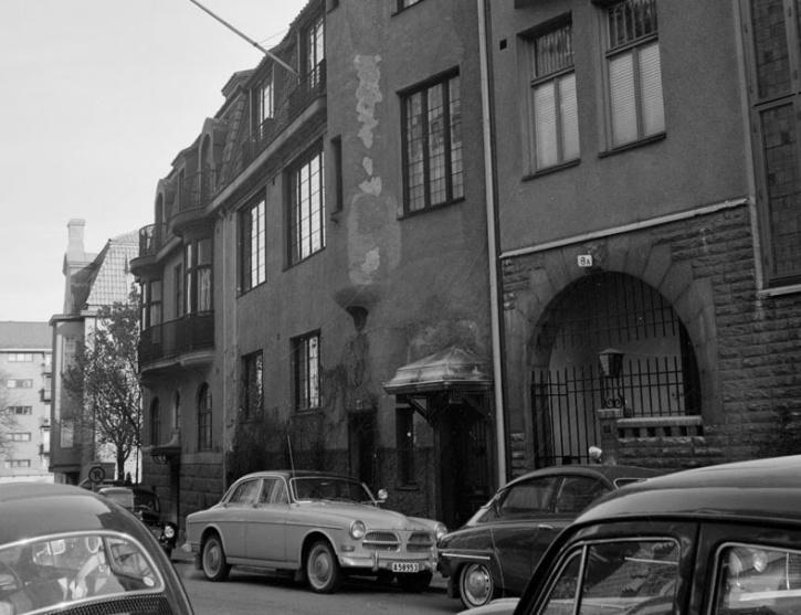 Baldersgatan 8 vid mitten av 1960-talet.