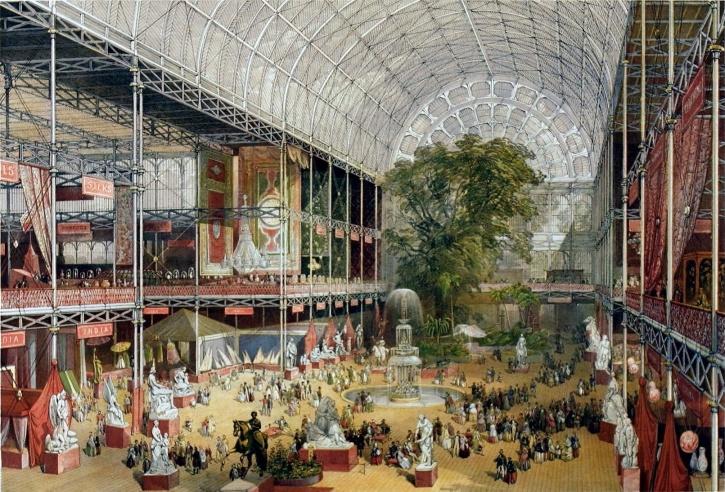 Londonutställningen 1851,  var världens första världsutställning. Den hölls i nybyggda Crystal Palace i Hyde Park i London.