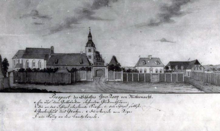 Slottet Groos-Roop är beläget i den norra lettiska staden Straupe. Komplexet byggdes på 1200-talet av familjen von Rosen.