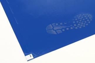Klibbmatta - Klibbmatta, 120 Ark, Blå, 0,45x1,15m