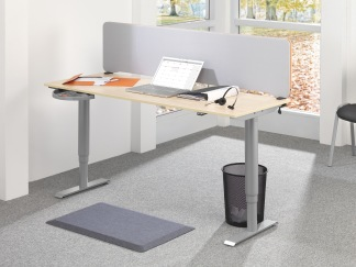 Senso Office - Senso Office, Grå, 0,52x0,82m