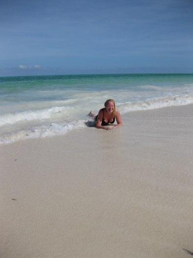 När livet är behagligt och havet varmt!