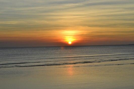 Solnedgång Zanzibar