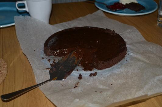 Kladdigt och chokladigt och gott!