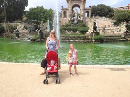 Citaudella-parken Barcelona