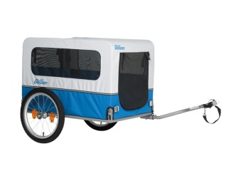 Cargo trailer hund van