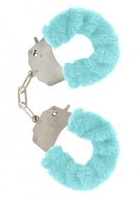 Furry Fun Cuffs - Aqua