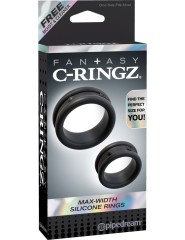 Max-Width Silicone Rings