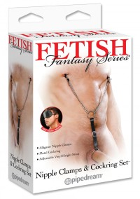 Nipple Clamps and Cockring Set
