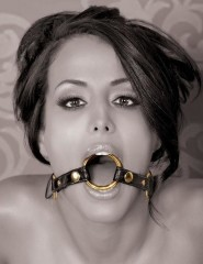 Fetish Fantasy Gold O-Ring Gag