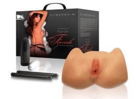 Farrah's vibrating Pussy & Ass