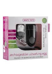 Rechargeable Vibrating Egg - Black