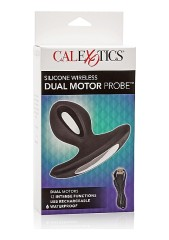 Silicone Wireless Dual Motor Probe - Black