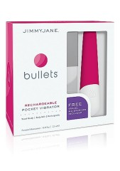 Bullets Rechargeable Pocket Vibrator - Pink