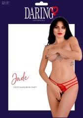 Jade crotchless bikini panty