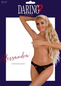 Alessandra crotchless panty