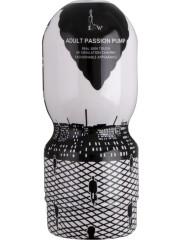 Passion cup masturbator vagina white/black