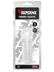 Nubby Sleeve (Clear)