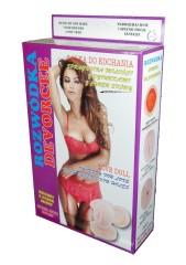Bossoftoys - 26-00017 - Divorce Love Doll - 150 Cm - Blowup Doll - Extra Silicone Masturbator - Triple Holes - Masturbator - Inflatable Doll