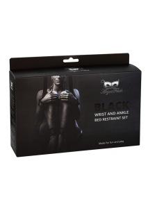 Argus - Black Wrist And Ankle Bed Restrain - AF 001033