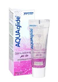 AQUAglide Stimulating Gel For Her - 25 ml