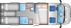 Sun-Living S75SL-18 Natt Planskiss