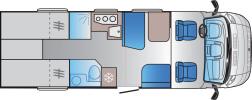 Sun-Living S75SL-18 Planskiss