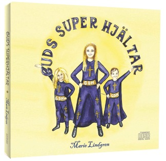 Guds superhjältar - Musikskiva - Guds superhjältar