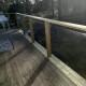 Renovering av balkongräcke