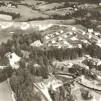Vykort - Flygfoto över Bångbro