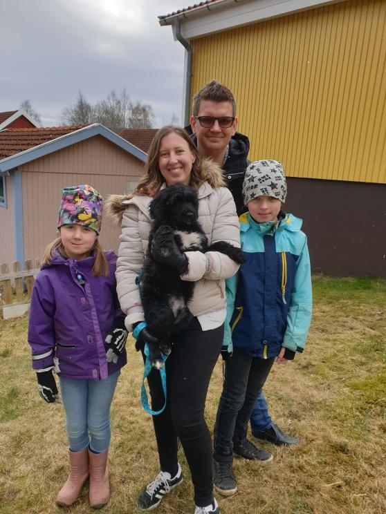 Pixel flyttade till familjen Dahlberg