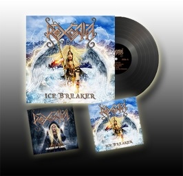 Music Bundle - 1x Ice Breaker Black Vinyl (Limited Edition) + 1x Ice Breaker CD + 1x Queen of Light CD